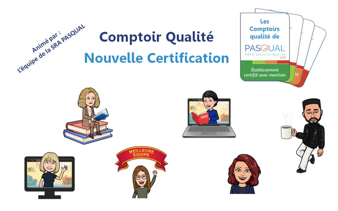 Cliquez pour retrouver l'intégralité de nos Comptoirs Qualité Certification